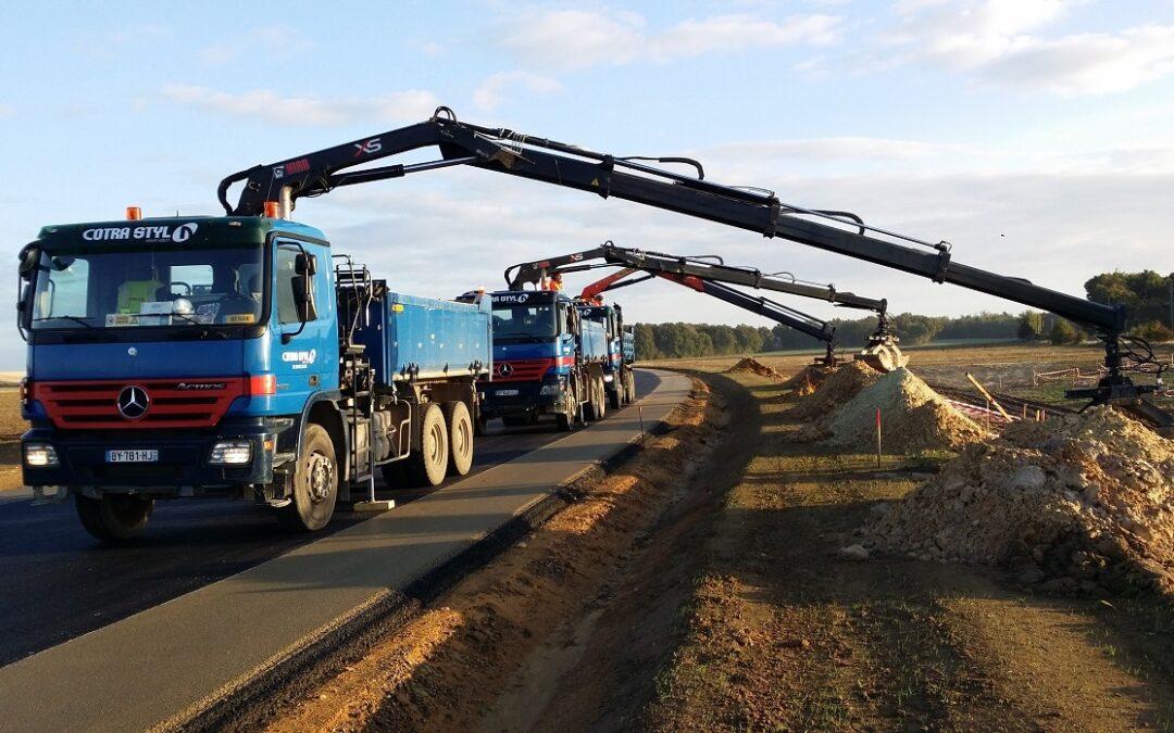 Camion grue 10 tonnes