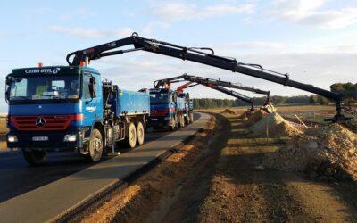 Camion grue 10 tonnes: un équipement lourd pour des besoins spécifiques